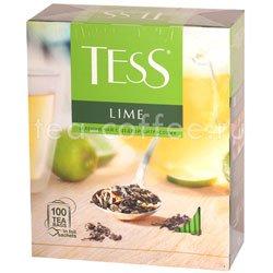 Чай Tess зеленый Lime (Цедра цитрусовая) 100 пак. Россия
