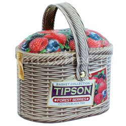 Чай Tipson Basket Forest berries/Лукошко Лесные ягоды 100 гр Шри Ланка