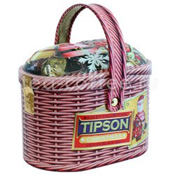 Чай Tipson Basket Christmas/Лукошко Рождество ж.б.100 гр Шри Ланка