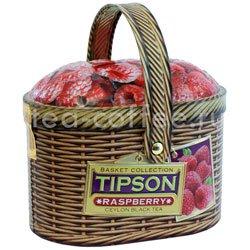 Чай Tipson Basket Raspberry/Лукошко Малина ж.б.100 гр Шри Ланка