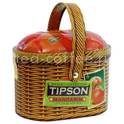 Чай Tipson Basket Tangerine/Лукошко Мандарин ж.б.100 гр Шри Ланка