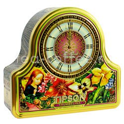 Чай Tipson Tea Clock Thumbelina 100 гр Шри Ланка
