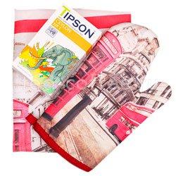 Tipson подарочный чайный набор Лондон с фартуком