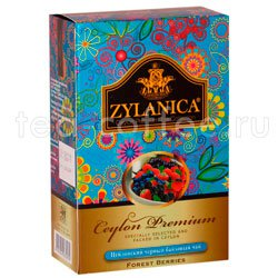Чай Zylanica Ceylon Premium Forest Berries черный 100 г Шри Ланка