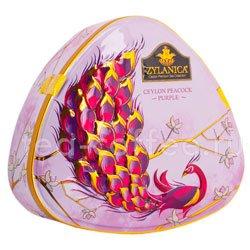Чай Zylanica Peacock Purple (Павлин) FBOP черный 100 гр ж.б.