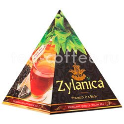 Чай Zylanica Black Tea Medium Leaf в пирамидках