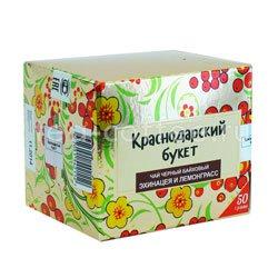 Чай Краснодарский букет черный с эхинацеей и лемонграссом 50 гр