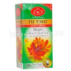 Чай Ти Тэнг зеленый кленовый сироп в пакетиках Шри Ланка
