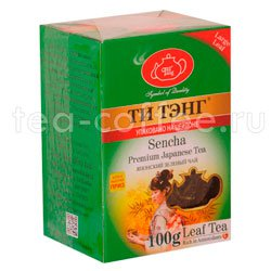 Чай Ти Тэнг Зеленый Сенча 100 гр Шри Ланка
