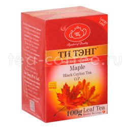 Чай Ти Тэнг Черный Кленовый сироп 100 гр Шри Ланка