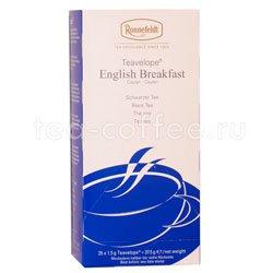 Чай Ronnefeldt English Breakfast / Английский завтрак черный в пакетиках 25 шт.х 2.5 гр