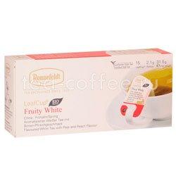 Чай Ronnefeldt Fruity White/Белый чай с фруктами в сашете Германия