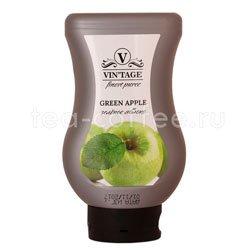 Фруктовое пюре Vintage Зеленое яблоко 650 гр Россия