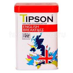 Чай Tipson черный Английский завтрак 85 гр ж.б. Шри Ланка
