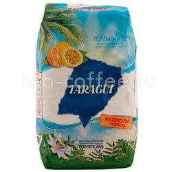 Чай Мате Taragui с Маракуйей и тропические фрукты 500 гр Аргентина