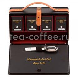 Подарочный чайный набор Dammann D-Case (Д-Кейс) Франция