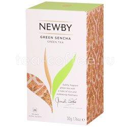 Чай Newby Зеленая сенча 25 шт Китай