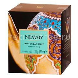 Чай листовой Newby Марокканская мята 100 гр Китай