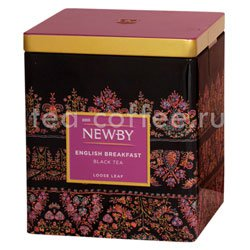 Чай Newby English Breakfast черный 125г ж.б.