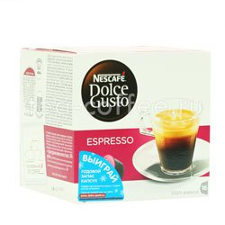 Кофе Dolce Gusto в капсулах Espresso (Nescafe)