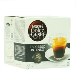 Кофе Dolce Gusto в капсулах Espresso Intenso (Nescafe)
