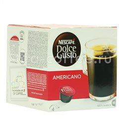 Кофе Dolce Gusto в капсулах Americano (Nescafe)