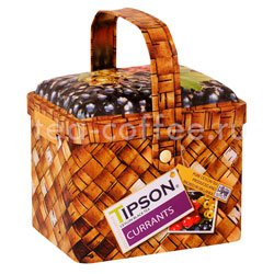 Чай Tipson Basket Currants/Лукошко Смородина 80 гр Шри Ланка