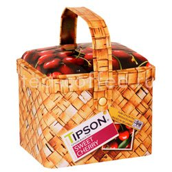 Чай Tipson Basket Sweet Cherry/Лукошко Вишня и Черешня 80 гр Шри Ланка