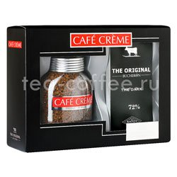 Подарочный набор Cafe Creme и Bucheron The Original горький шоколад Россия