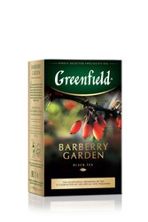 Чай Greenfield Barberry Garden черный 100 г