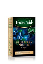 Чай Greenfield Blueberry Nights черный 100 г