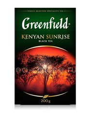 Чай Greenfield Kenyan Sunrise черный 200 г