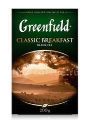 Чай Greenfield Classic Breakfast черный 200 г Россия