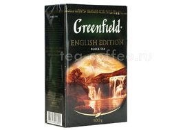 Чай Greenfield English Edition черный 100 г