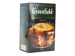 Чай Greenfield English Edition черный 200 г