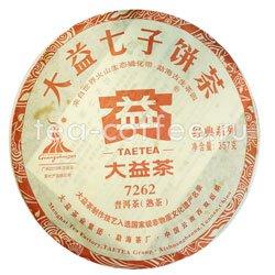 Пуэр блин Tae Tea 7262  357 г (шу)