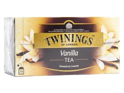 Чай Twinings  Black Tea & Vanilla в пакетиках 25 шт