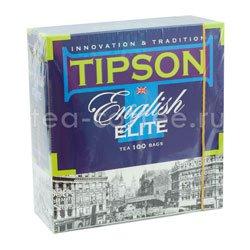 Чай Tipson English Elite 100 пакетиков по 2 гр