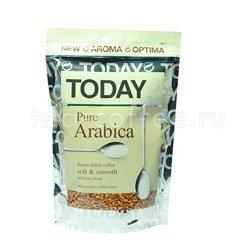 Кофе Today растворимый Pure Arabica 75 гр