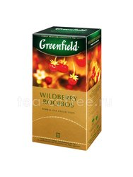 Чай Greenfield Wildberry Rooibos в пакетиках 25 шт. Россия