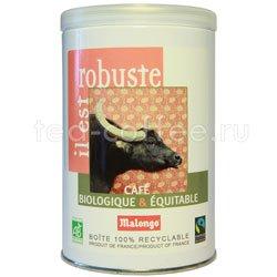 Кофе Malongo молотый Bio Крепкий 250 гр (ж.б.)
