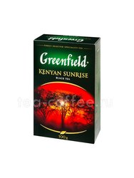 Чай Greenfield Kenyan Sunrise черный 100 г