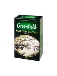 Чай Greenfield Earl Grey Fantasy черный 100 г Россия