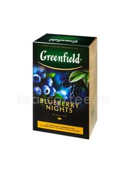 Чай Greenfield Blueberry Nights черный 100 г Россия