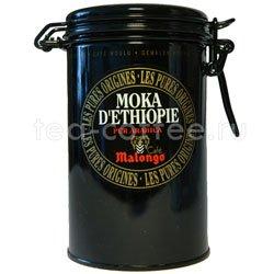 Кофе Malongo молотый Мокка Эфиопия 250 гр (ж.б.)
