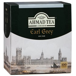 Чай Ahmad Tea Earl Grey. Ахмад Эрл Грей в пакетиках