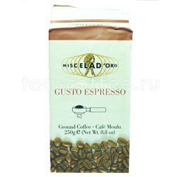 Кофе Miscela d`Oro молотый Gusto Espresso 250 гр