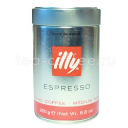 Кофе Illy молотый Espresso Coffee Medium 250 гр