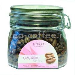 Органический кофе Блюз в зернах Indonesia Sumatra