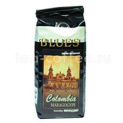 Кофе Блюз в зернах Colombia Maragogype 200 гр